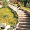 Cotta natúr blokk lépcső