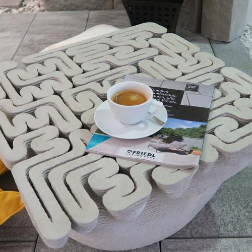 3D nyomtatott betontermékek