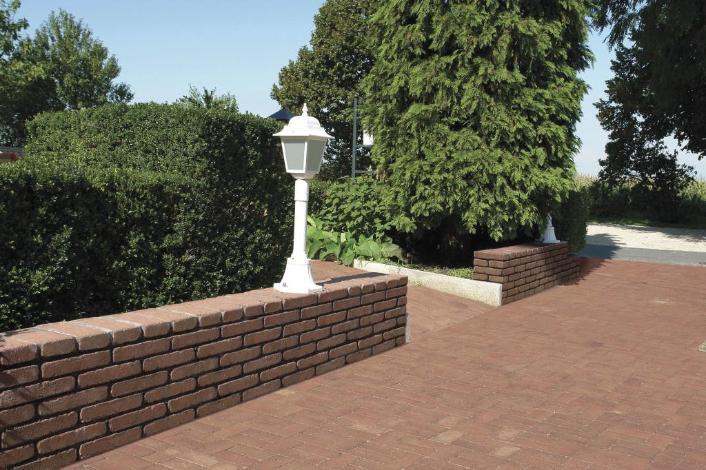 Leier falazóelem, kerítéskő, fedlap
