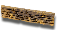Bradstone Madoc Falrendszer (Madoc dekorlap<br />méret : 60 x 15 x 4 cm)