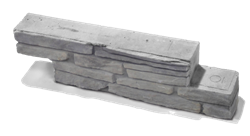 Bradstone Milldale Falrendszer (Milldale falazókő (Z-blokk)<br />méret: 58,5x10x14 cm)