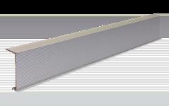 ALU-lépcső éltakaró (ALU-lépcső éltakaró<br />120 x 2,6 x 5,6 cm)