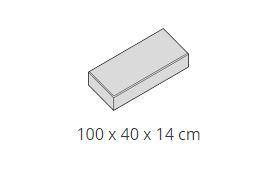 Deco tömblépcső (100 x 40 x 14 cm)